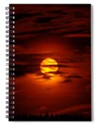 Beauty Of The Sun And Clouds Spiral Notebook