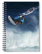 Beauty Of Windsurfing Maui 1 Spiral Notebook