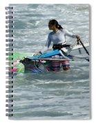 Beauty Of Windsurfing Maui 2 Spiral Notebook