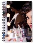 Beauty Portrait Spiral Notebook