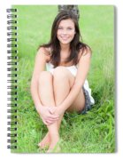 Beauty Portrait Spiral Notebook