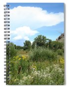 Beaver Creek Valley In Colorado Spiral Notebook