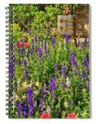Becker Vineyards' Flower Garden Spiral Notebook