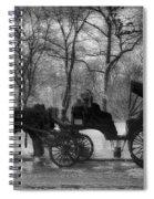 Beckoning Carriage Spiral Notebook