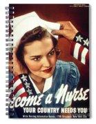 Become A Nurse Spiral Notebook