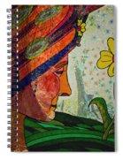 Becoming The Garden - Garden Appreciation Spiral Notebook