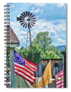 Bedford Village Pennsylvania Spiral Notebook