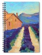 Bedoin - Provence Lavender Spiral Notebook