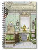 Bedroom In The Renaissance Style Spiral Notebook