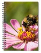Bee At Work Spiral Notebook