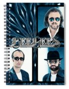 Bee Gees I Spiral Notebook