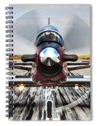 Beechcraft T-6a Texan II D Spiral Notebook