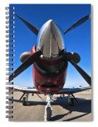 Beechcraft T-6a Texan II  Spiral Notebook
