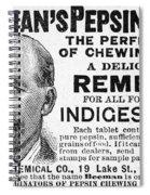 Beemans Pepsin Gum, 1895 Spiral Notebook
