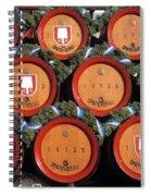 Beer Kegs, Oktoberfest, Bayern, Munich Spiral Notebook