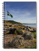 Beesands Spiral Notebook