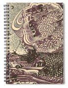 Beeswarm Spiral Notebook