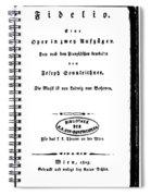 Beethoven Fidelio, 1805 Spiral Notebook