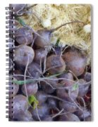 Beets And Mini Onions At The Market Spiral Notebook