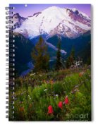 Before Dawn At Mount Rainier Spiral Notebook