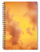 Before The Storm Clouds Stratocumulus 10 Spiral Notebook
