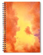 Before The Storm Clouds Stratocumulus 2 Spiral Notebook