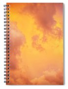 Before The Storm Clouds Stratocumulus 9 Spiral Notebook