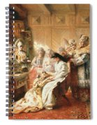 Before The Wedding, 1890 Oil On Canvas Spiral Notebook