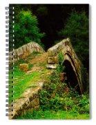 Beggars Bridge In Glaisdale North Yorkshire Spiral Notebook