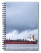 Begin The Voyage  Spiral Notebook