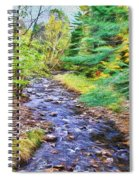 Beginning Autumn Changes Spiral Notebook
