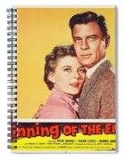 Beginning Of The End 1957 Spiral Notebook