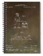 Beheading Block Patent Spiral Notebook