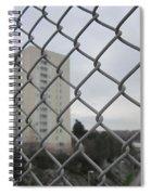 Behind Bars Spiral Notebook