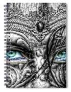 Behind Blue Eyes Spiral Notebook