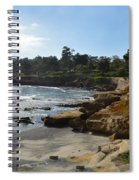 Behind The 18th At Pebble Beach Spiral Notebook