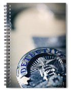 Behind The Badge Spiral Notebook