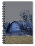 Behind The Barn Spiral Notebook