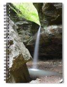 Behind The Boulders Spiral Notebook