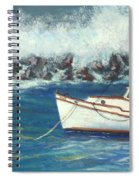 Behind The Breakwall Spiral Notebook