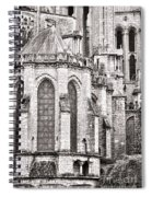 Behind The Cathedral Spiral Notebook