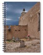 Behind The Church Spiral Notebook