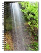 Behind The Curtain Spiral Notebook