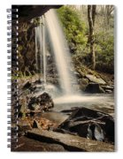 Behind The Falls Spiral Notebook