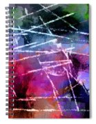 Behind The Horizon Spiral Notebook