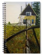 Behind The Old Church Spiral Notebook