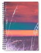 Behind The Sea Oats Spiral Notebook