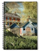 Behind The Smokehouse Spiral Notebook