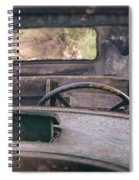 Behind The Wheel Spiral Notebook
