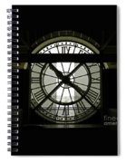 Behind Time Spiral Notebook